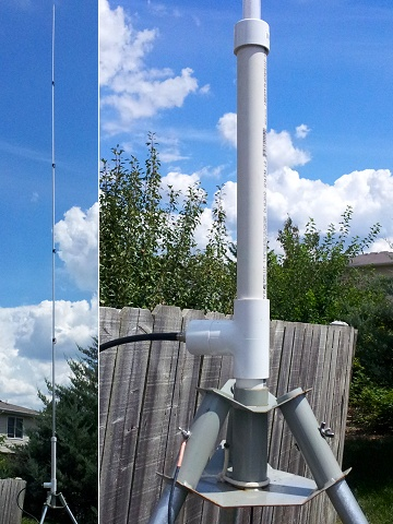 Homebrew 20-Meter �-Wave Vertical Antenna