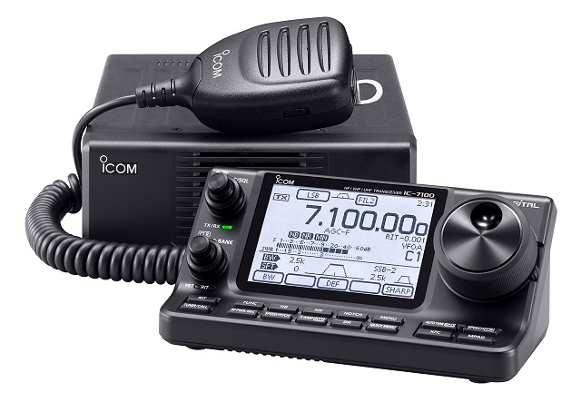 Icom IC-7100 HF\VHF\UHF All-Mode\D-STAR Mobile Transceiver